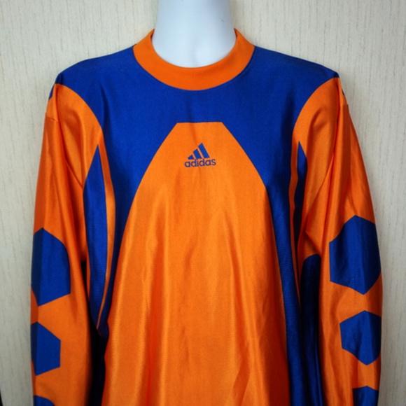 4def56298 adidas Other - VTG 80s Adidas Dazzle Soccer Goalie Jersey Medium